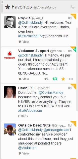 Hello Vodacom Mandycollinswriter